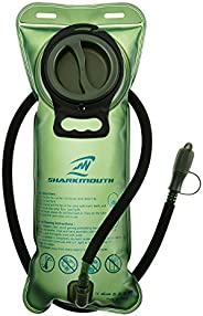Hydration Bladder 2L 70OZ Water Reservoir, BPA Free, Leak-Proof, Easy Clean for Bicycling Hiking Camping Hunti