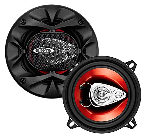 BOSS Audio CH5530 Car Speakers - 225 Watts Of Power Per Pair And 112.5 Watts Each, 5.25 Inch, Full...