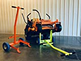 Ballard Inc Super Jack Pro - Mower Jack- ZTR, Stander, Walk Behinds (High Vis Orange)