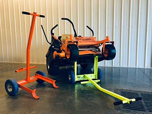 Ballard Inc Super Jack Pro - Mower Jack- ZTR, Stander, Walk Behinds (High Vis Orange)