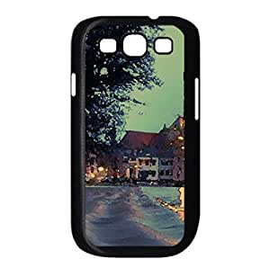 Frozen Alley Watercolor style Cover Samsung Galaxy S3 I9300 Case