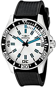 """Invicta Men's 16733 """"SPECIALTY"""" Stainless Steel Watch with Black Band"""
