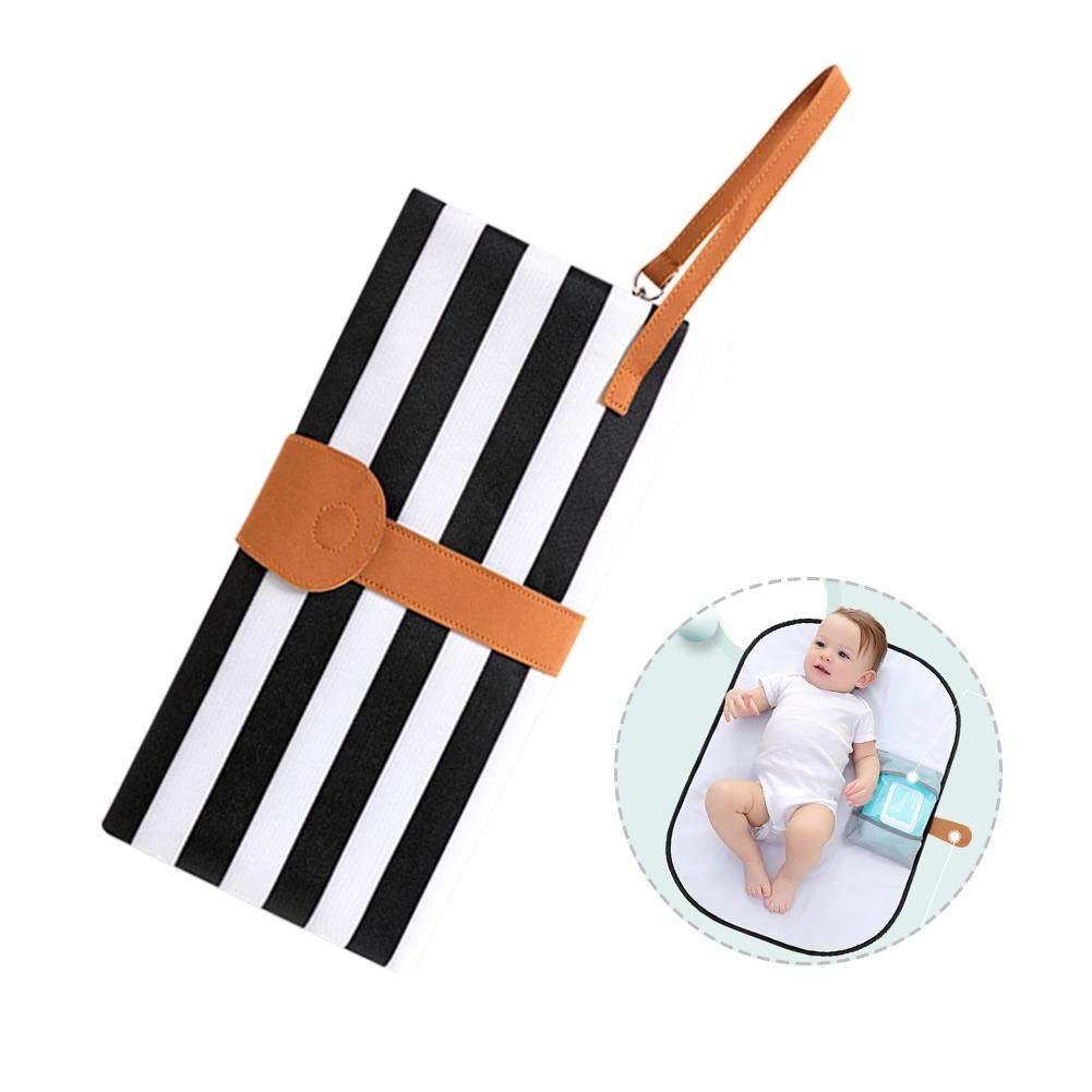Portable Baby Folding Diaper Changing Pad Waterproof Mat Fancy Bag Travel Storage
