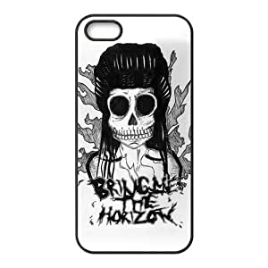 Bring Me The Horizon Design Solid Rubber Customized Cover Case for iPhone 5 5s 5s-linda324