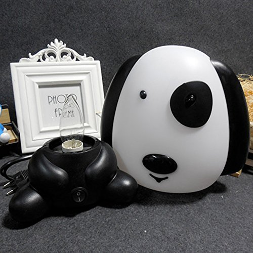 Accreate Cartoon Table Light Night Lamp Bed Light Home Office Decor (Rich dog) by Accreate (Image #3)'