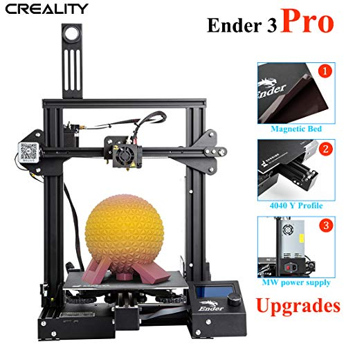 ENOMAKER Ender 3 Pro 3D Printer Upgrade with Magntic Build Surface Plate Prusa I3 220x220x250mm