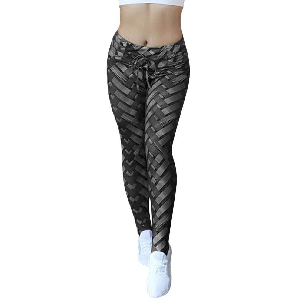 80920444a31 Amazon.com  JPJ(TM) New❤️Yoga Pants❤️Women Fashion Hight Waist Yoga Shanto  Print Legging Running Stretch Sports Pants Trouser  Clothing