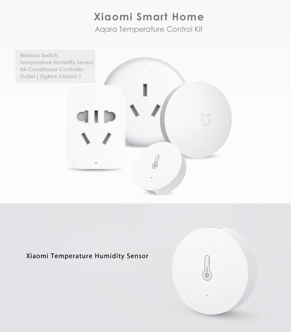 Xiaomi Smart Home Aqara?Temperature Control Set