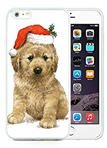 Recommend Design iPhone 6 Plus Case,Christmas Dog White iPhone 6 Plus 5.5 TPU Case 18