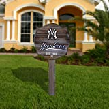 MLB New York Yankees Wooden Stake Sign