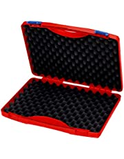 """KNIPEX Gereedschapsbox """"RED"""" leeg 00 21 15 LE"""