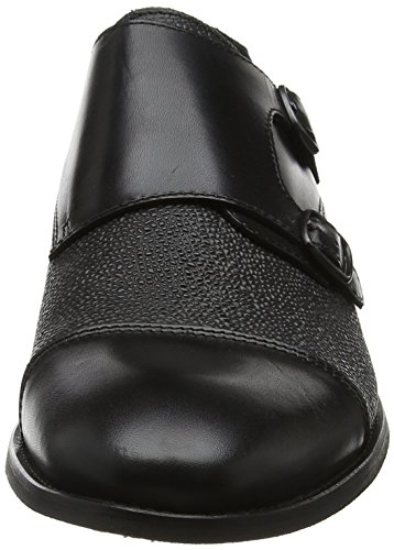 SHOE THE BEAR Miles L, Zapatos de Cordones Oxford Para Hombre, Negro (Black), 41 EU