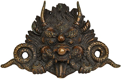 Garuda Wall Hanging Mask - Copper Statue