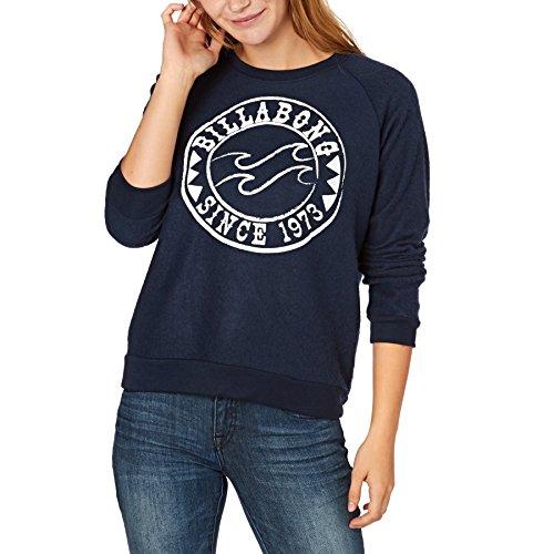 Billabong Fleeces - Billabong Project Fleece Sweatshirt - Blue Tide
