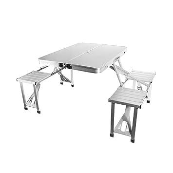 Pretty jin Faltbare Tragbare Tisch und Stuhl Set Kombination