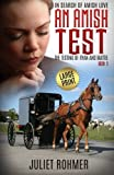 download ebook an amish test (large print): the testing of ryan and mattie (in search of amish love) (volume 3) pdf epub