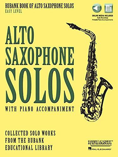Rubank Book for Alto Saxophone Solos: Easy Level