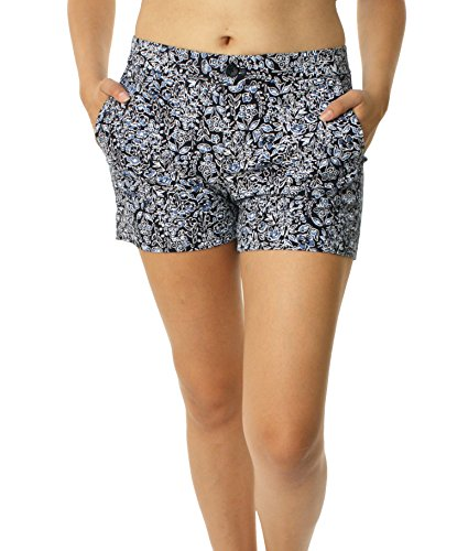 banana-republic-womens-hampton-fit-shorts-size-2-black-blue