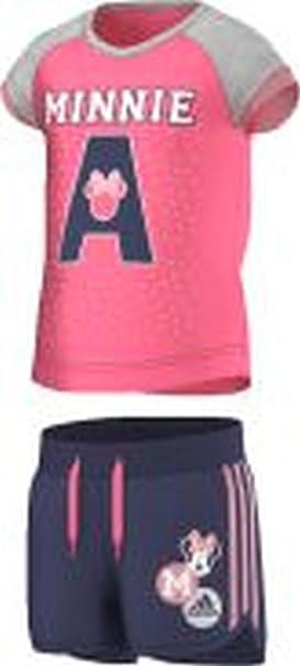 adidas LK DY MIN SS - Chándal para niño, Color Azul Marino/Rosa ...