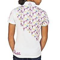 Kissi Couture Little Girls Golf Kiss My Putt Polo Shirt