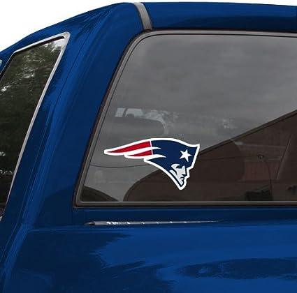 Wincraft New England Patriots Auto Aufkleber 20 3 X 20 3 Cm Farbe Sport Freizeit