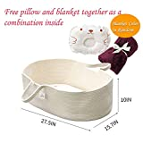 ICEBLUE HD Moses Basket Cotton Rope Specious