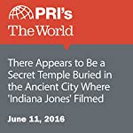 There Appears to Be a Secret Temple Buried in the Ancient City Where 'Indiana Jones' Filmed | Christopher Woolf