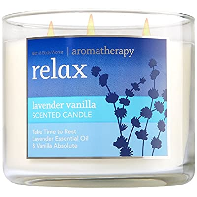 Bath and Body Works 3-wick Limited Edition Candle AROMATHERAPY COLLECTION
