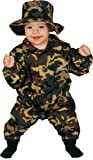 Dress Up America Baby Military Officer, Camouflage, 0-9 Months