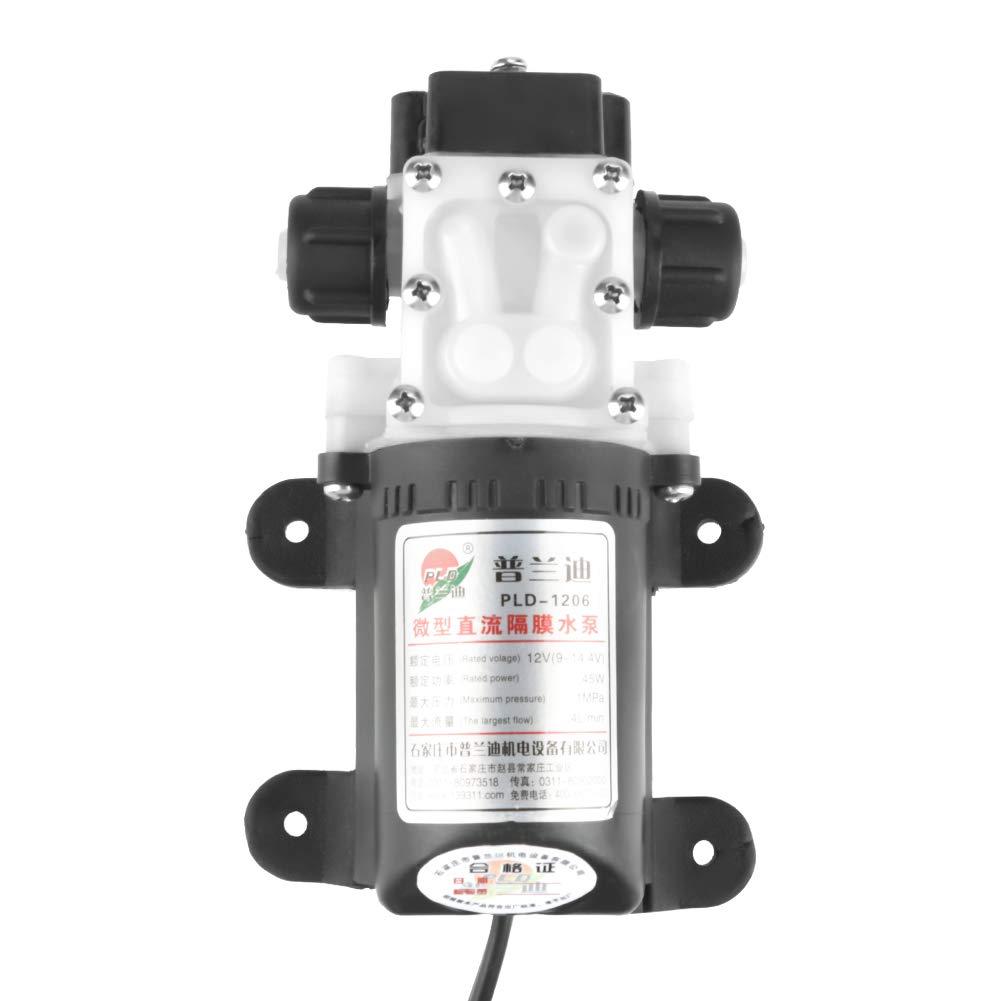 Hilitand Pompa di trasferimento elettrica 12V 45W Estrattore di gasolio per Auto Diesel Portatile Olio Elettrico con Clip a Coccodrillo