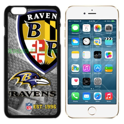Ravens Baltmore Football New Black Apple iPhone 6S Plus Case By Mr - Case Football Baltimore Black Ravens
