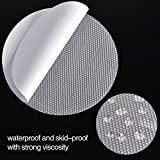20pcs Non-Slip Safety Shower Treads 10cm PEVA Clear