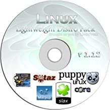 Lightweight Linux Pack - Slax, Puppy, Macpup, SliTaz, TinyCore, DSL - All on one Bootable CD