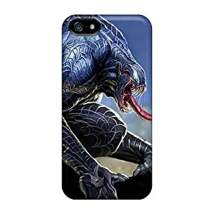 SherriFakhry Iphone 5/5s Shock Absorption Hard Cell-phone Cases Provide Private Custom HD Venom Image [arH20158TIAO]