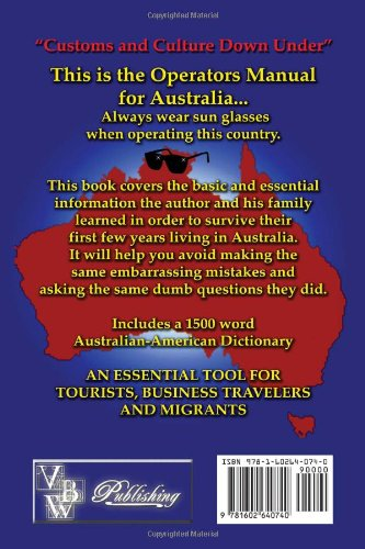 Americans' Survival Guide to Australia and Australian-American Dictionary (Australian Languages and English Edition) by Virtualbookworm.com Publishing