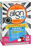 Align Jr. Probiotic Supplement Chewable Tablets Cherry Smoothie - 24 ct, Pack of 3
