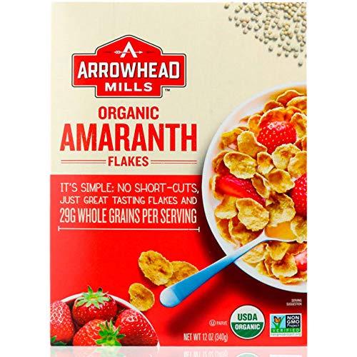 Arrowhead Mills Organic Cereal Amaranth Flakes-12 ()
