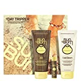 Sun Bum Premium Day Tripper Travel-Sized Sun Care Pack, SPF 30, Sunscreen, Lip Balm Sunblock, After Sun Lotion, Hypoallergenic, Paraben Free
