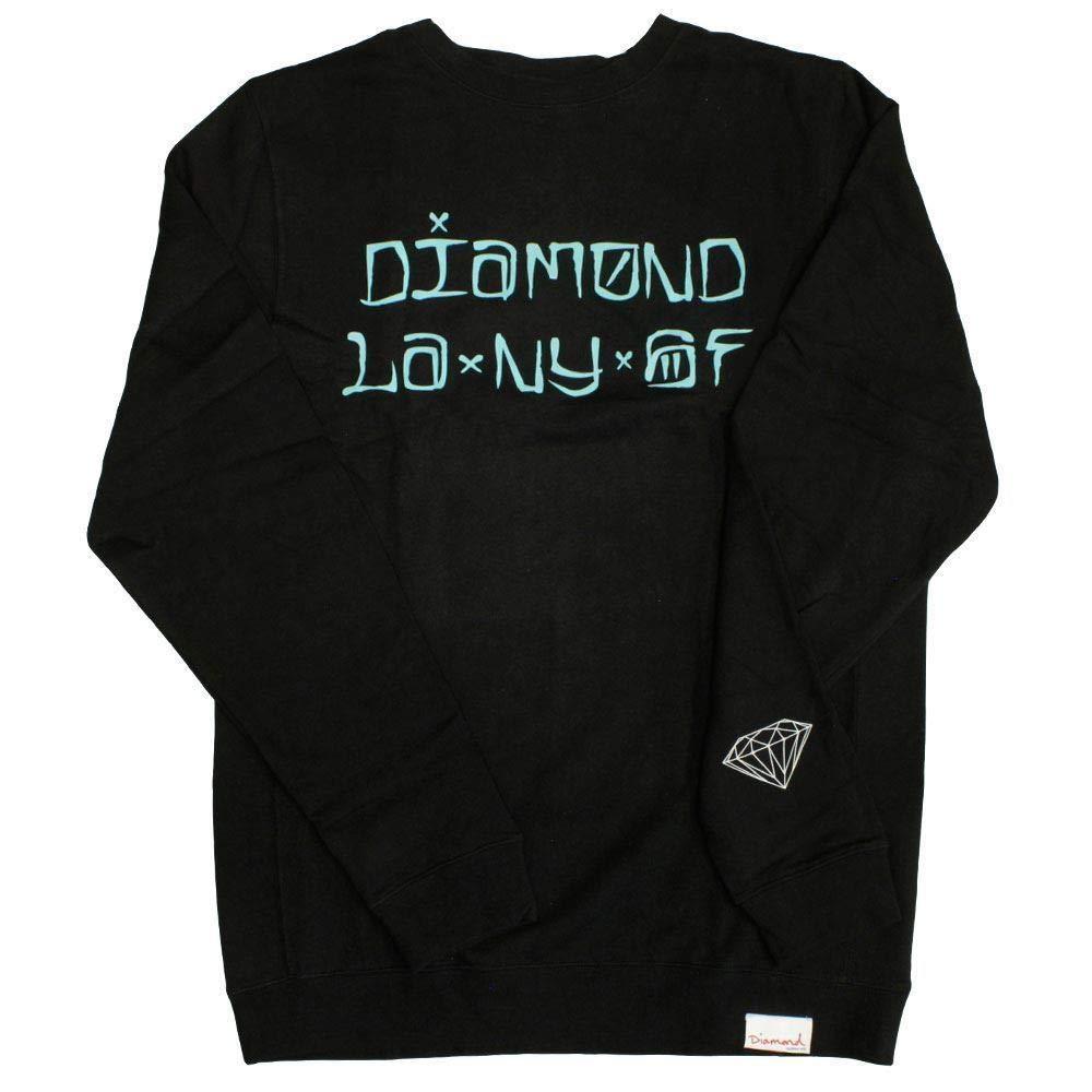 Diamond Supply Co. Cities Sweatshirt schwarz