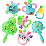 Baby Toys 3-6-12 Months Baby Rattles Educational Toys 0-1 Years Old Random Color