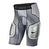 #7: Nike Pro HyperStrong Hardplate 808772-100 White/Grey Men's Graphic Football Shorts