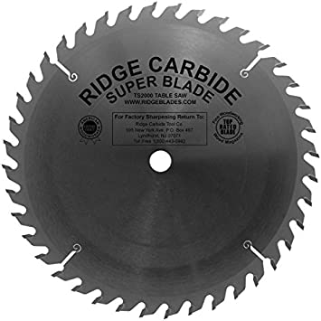 10 Ts2000 Flat Top Box Joint Blade Amazon Com