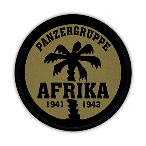 tank group Africa Palme 1941 1943 North Africa crest badge logo patch uniform tropical climate - ()