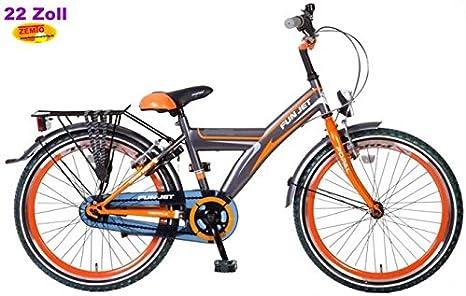 Niños bicicleta holandesa 55.88 cm POZA Funjet Naranja-negro ...