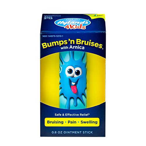 Kids Bumps n Bruises Stick by Hyland's 4Kids, Natural Relief of Bruising, Pain and Swelling for Children, 0.8 -