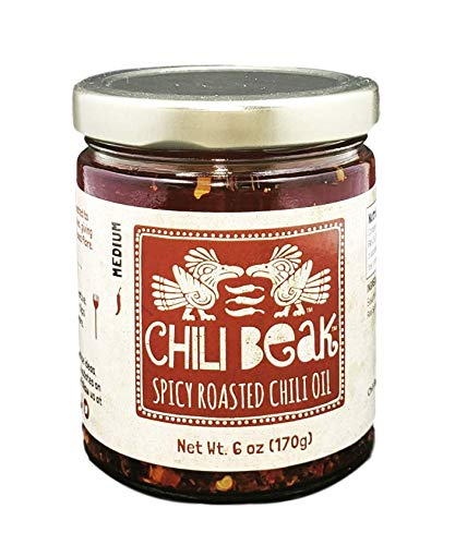 Chili Beak - Artisanal Spicy Roasted Siomai Chili Oil Sauce - Original, 6 oz
