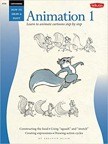 buy cartooning animation 1 with preston blair learn to animate cartoons step by step how to draw paint book online at low prices in india
