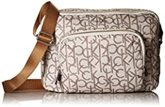 Calvin Klein tanya nylon crossbody with front pocket