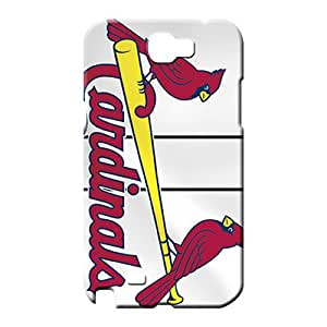 samsung note 2 Classic shell Tpye Awesome Look cell phone shells st. louis cardinals mlb baseball