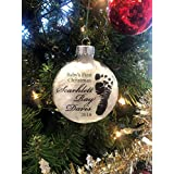Baby's First Christmas - Personalized Ornament - Baby Keepsake
